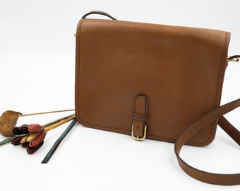 Coach NYC Large Buckle Pouch / Coach Saddle Bag