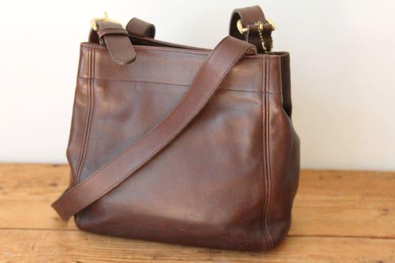 coach brown leather waverly soho buckle bag 4157 coach etsy rh etsy com