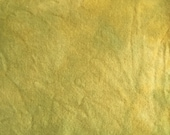 Golden Pear Green Hand Dyed Wool for Rug Hooking, Rug Braiding,Wool Applique and Fabric Art