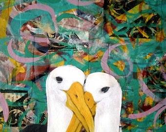 Albatross Eternal Love- Signed limited edition- Giclée print