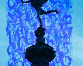 London Dreams: Piccadilly Cupid - Giclée print