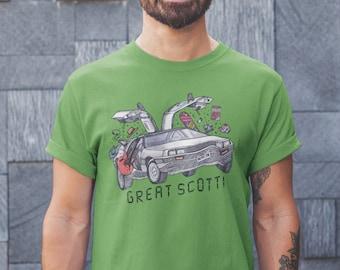 Great Scott!   Short-Sleeve Unisex T-Shirt - Colored Ink