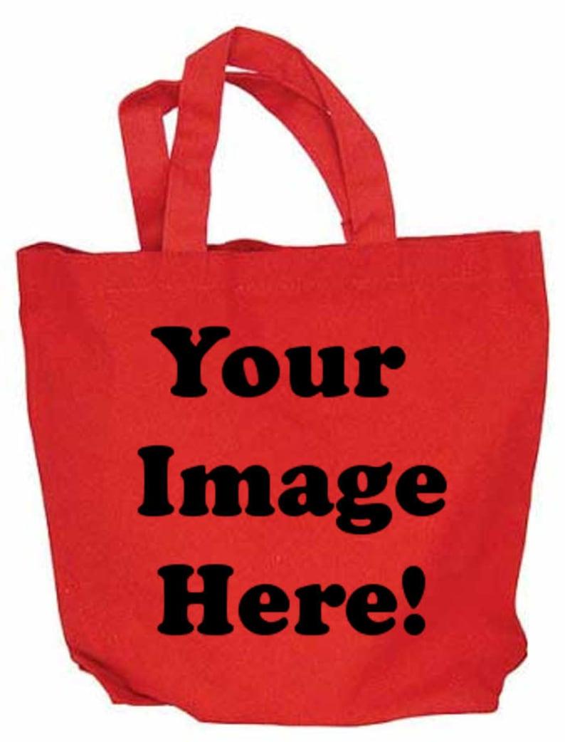 Custom Design Canvas Tote Bag