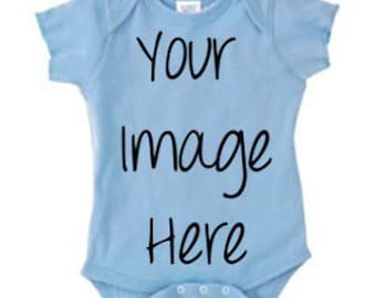 Custom Baby Bodysuit (You Choose the Design)