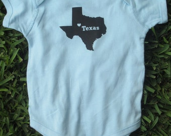 Texas Baby Bodysuit
