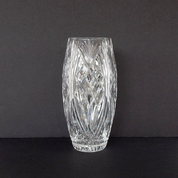 Waterford Crystal Vase Master Cutter S Vase 10 Etsy