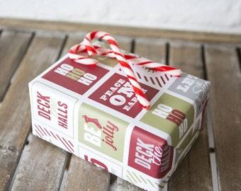 Holiday Gift Wrap Christmas Design