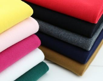 Soft Cotton Knit Fabric, Elastic Winter Warm Fabrics SH302
