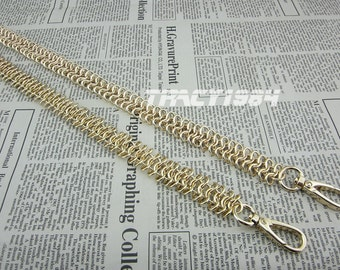Golden Chain Bag Purse Chain 1.9cm or 0.75 inch wide