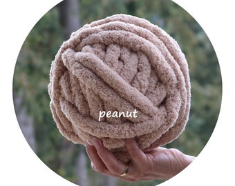Chunky chenille yarn | Etsy