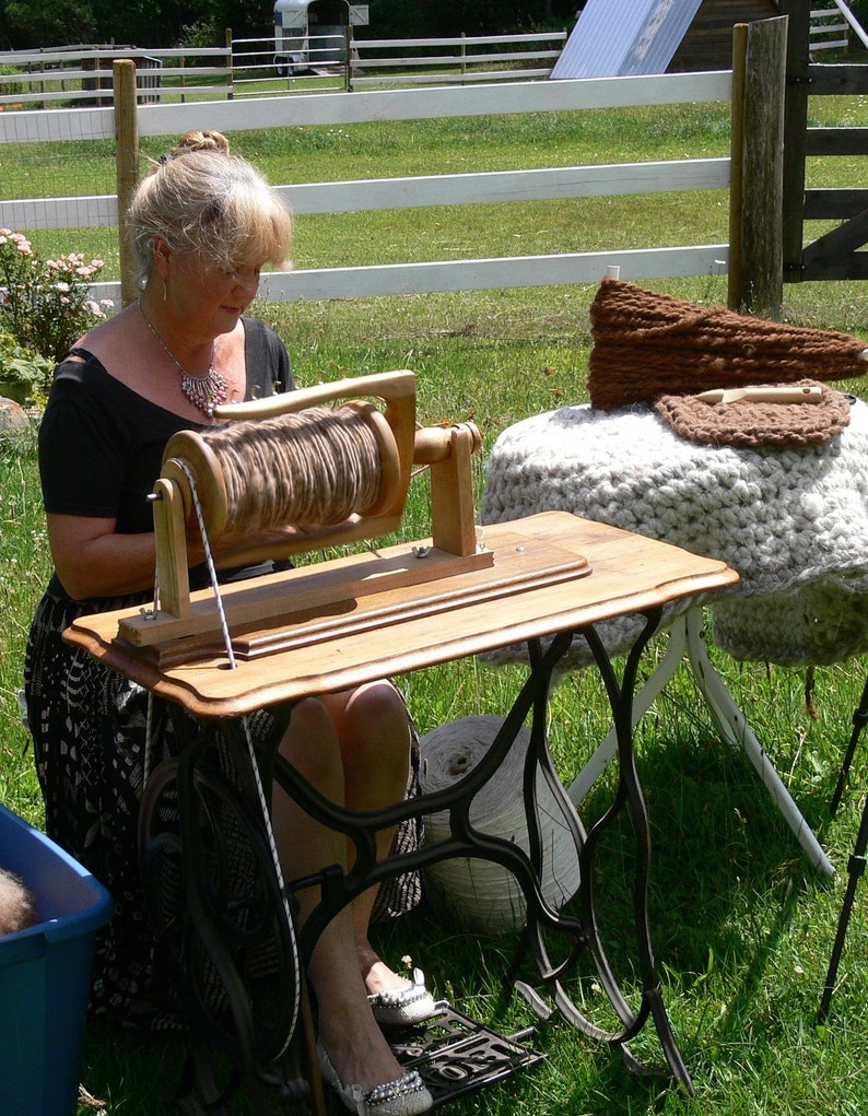 Build Your Own Indian Head Spinning Wheel & Treadle Conversion image 0