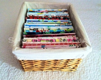"""39 Flannel Double Layer 8"""" x 8"""" Reusable Family Cloth/Baby Wipes includes a bonus wipe included for each dozen"""