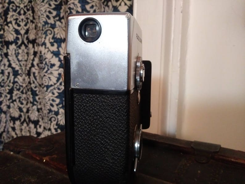 Classic Fujica Zoom 8 #13663 Vintage 8mm Handheld Video Camera made in 1961