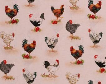 PEAR CRATE LABEL OUR PICK ROOSTER VINTAGE LOOMIS 1930S ORIGINAL BARNYARD BIRD