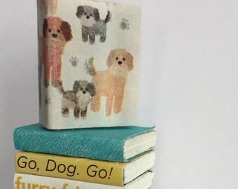 Dog Stack of Miniature Books