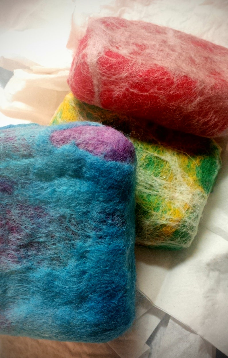 Felted Soap in Your Choice of 21 Scents  One Bar  Comes Gift image 0