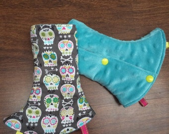Ergo Sugar Skulls Baby Carrier Dribble Teething Drool Pads Suits Most Carriers