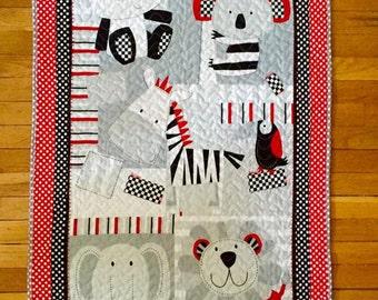 Quilt - Safari Adventures Baby Quilt