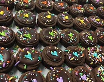 Mini chocolate sprinkle bites