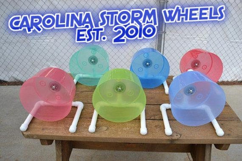 The Carolina Storm Bucket Wheel custom made for hedgehogs image 0