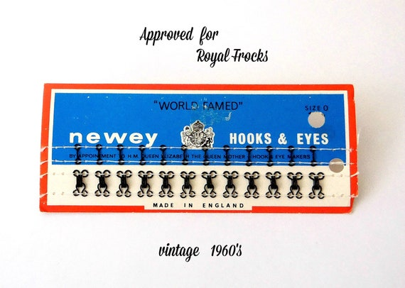 70/'ssewing notionsvintage sewing hooks Vintage Buttons Snaps and Hooks /& Eyes; 1960/'s