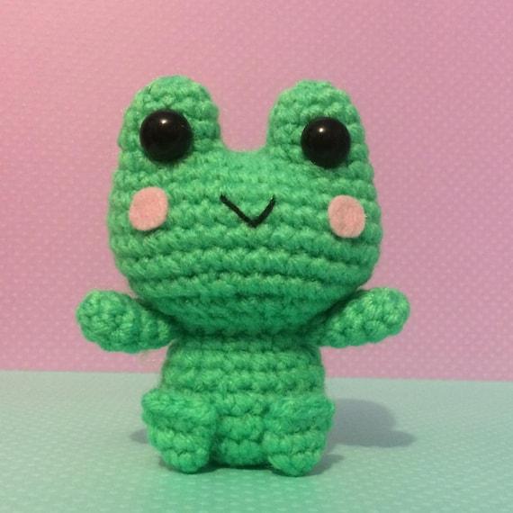 Poison Dart Frog amigurumi crochet pattern : PlanetJune Shop, cute ... | 570x570