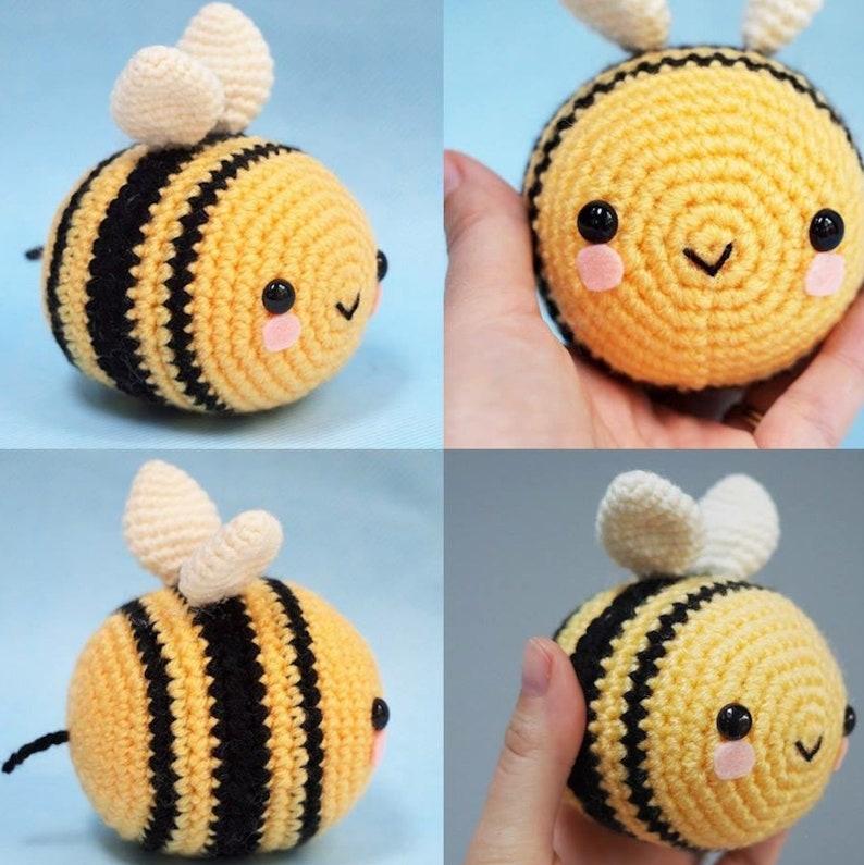 Crochet Lady Bee amigurumi pattern - Amigurumipatterns.net | 795x794