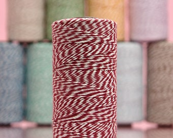 Red Baker's Twine - 20 Yards