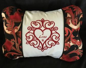 I Love U Pillow