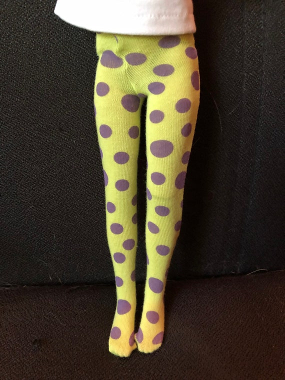 "12/"" Marley or 12/"" slim doll One pair GREEN Tights for  14/"" Patience"