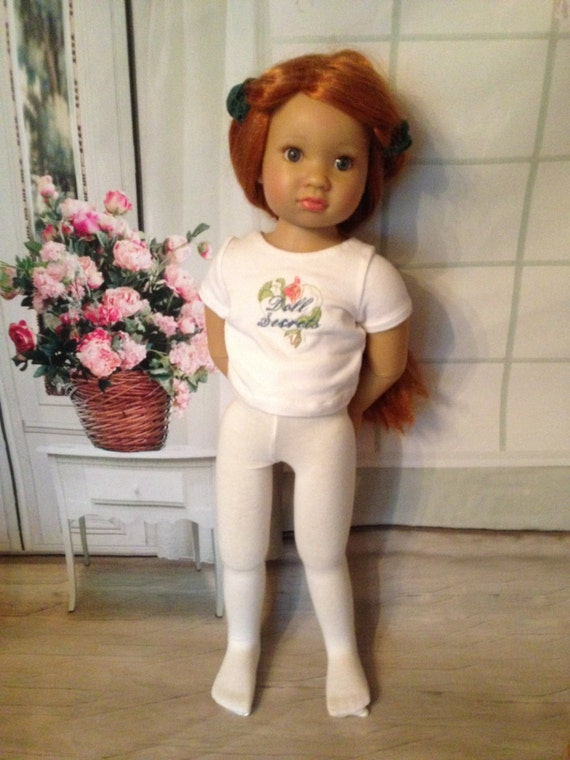 """Choice of CHRISTMAS TIGHTS for Kidz n Cats and other 18/"""" Slim bodied dolls"""
