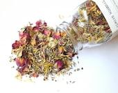 Botanical Facial Steam. Face Steam. All natural. Herbal Face Steam. Bath Tea. Floral. Herbal.