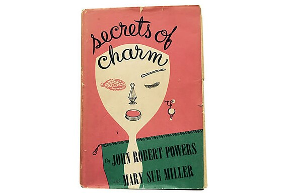 Secrets Of Charm John Robert Powers Mary Sue Miller Mcm Etsy