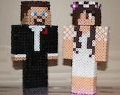 Items Similar To One Custom Skin 3d Minecraft Steve Figure