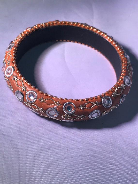 BLOW OUT Multi-Color Stone Bracelet Vintage Silver-Tone Cocktail Bracelet Gifts Under 50
