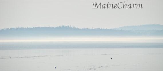 Maine Prints, Maine coast art, Maine coast print, Downeat Maine art, Fog  and Sun, Maine Photography, Minimalist Photography