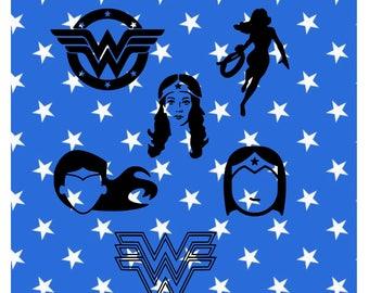Wonder Woman Decal, Superhero Decal, Wonder Woman, Wonder Woman Vinyl, Wonder Woman YETI, Wonder Woman Car Decal, Amazon Princess, Diana
