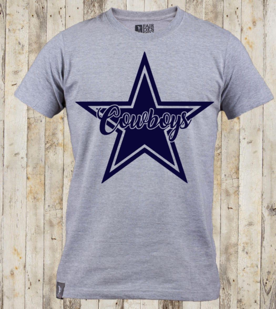 Dallas Cowboys T Shirt Custom Cowboys T Shirt Dallas Cowboy Etsy