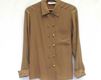 d0232068bbd6b Vintage 80s   90s Silk Blouse