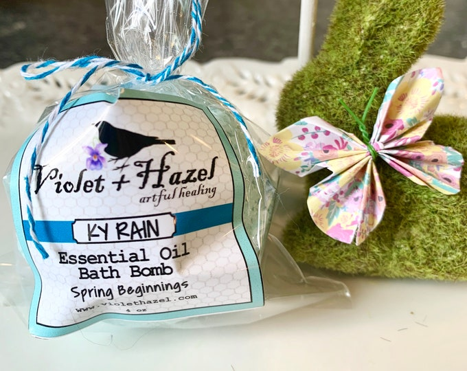 Featured listing image: KY RAIN Essential Oil Bath Bomb - Spring Beginnings