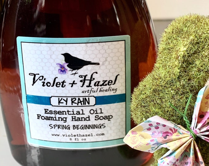 Featured listing image: KY RAIN Essential Oil Foaming Hand Soap - Spring Beginnings