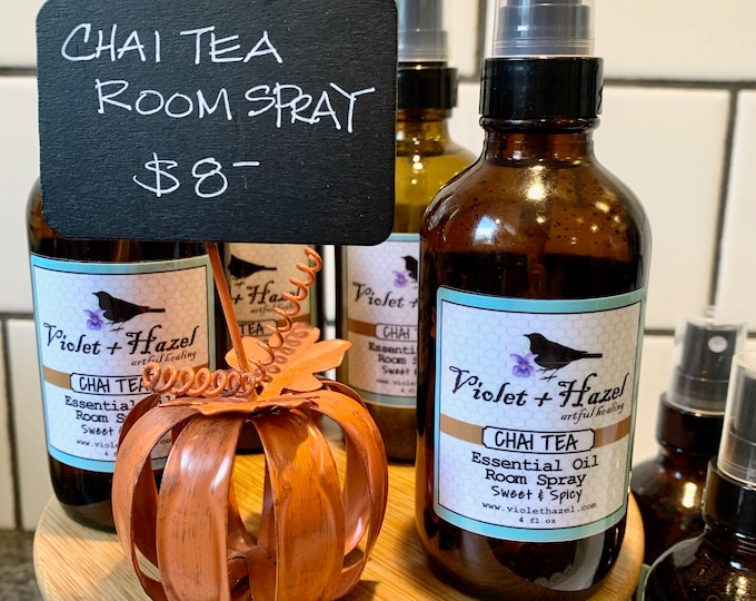 Featured listing image: CHAI TEA: Essential Oil Room Spray, Sweet & Spicy