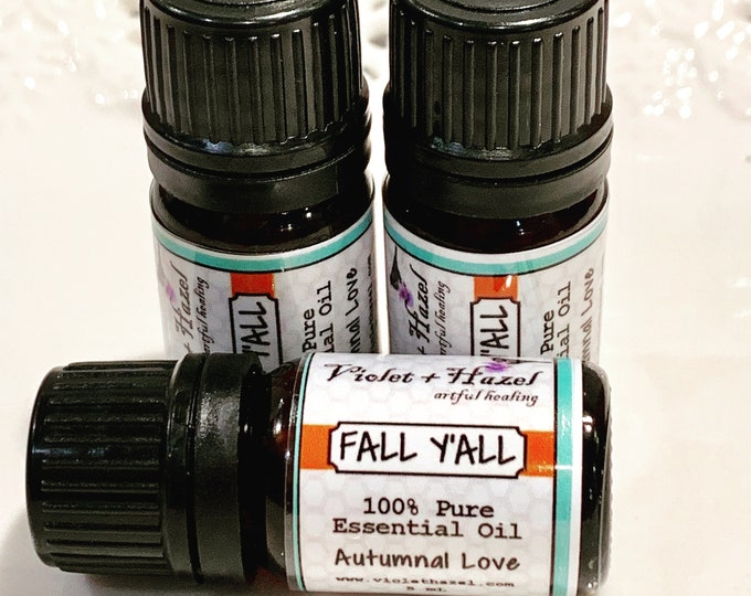 Featured listing image: FALL Y'ALL 100% Pure Essential Oil Blend - Autumnal Love