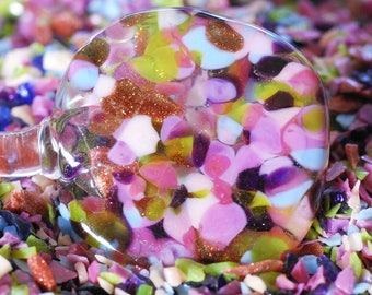 Glittering Fandango - Glass Frit Blend - CoE 92 - 96 (suitable for use on glass COE 90 - 104) 25g