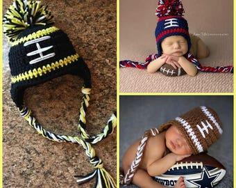 Pittsburgh Steelers Football Baby Infant Newborn Hospital Hat Cap Black
