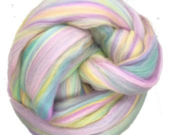 Felting Crafts USA 4oz Sheps Cafe Latte Merino Wool Top Roving Spinning