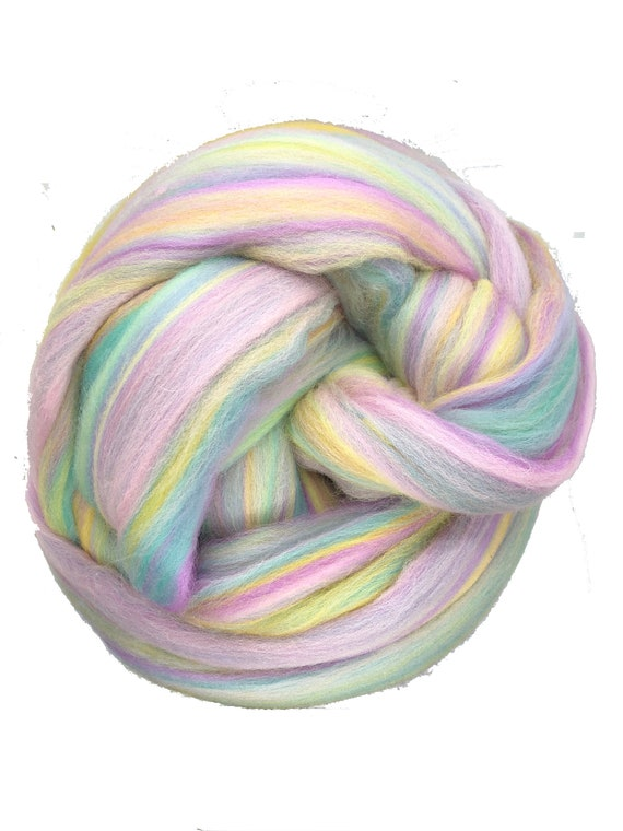 Felting Crafts USA Diamond White Wool Top Roving Fiber Spinning 1oz