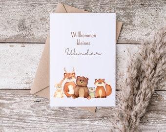 Postcard - Greeting Card - Baby