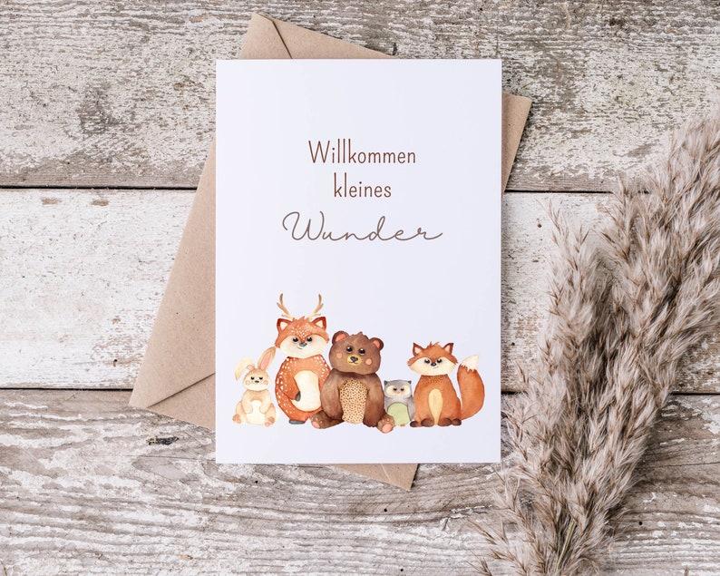Postcard  Greeting Card  Baby image 0