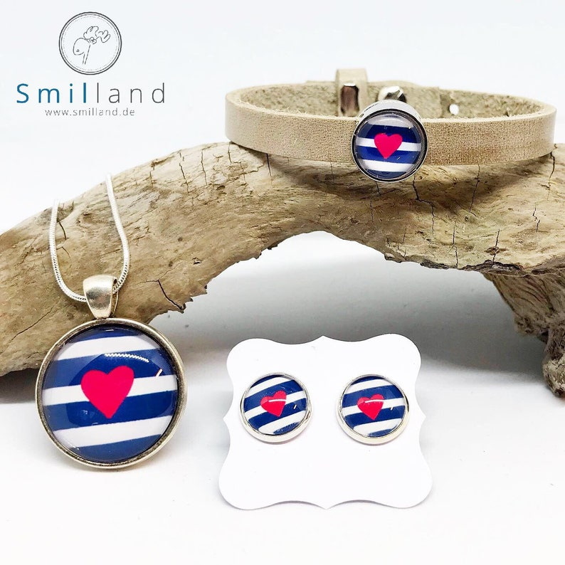 Jewelry set Maritimes Heart image 0